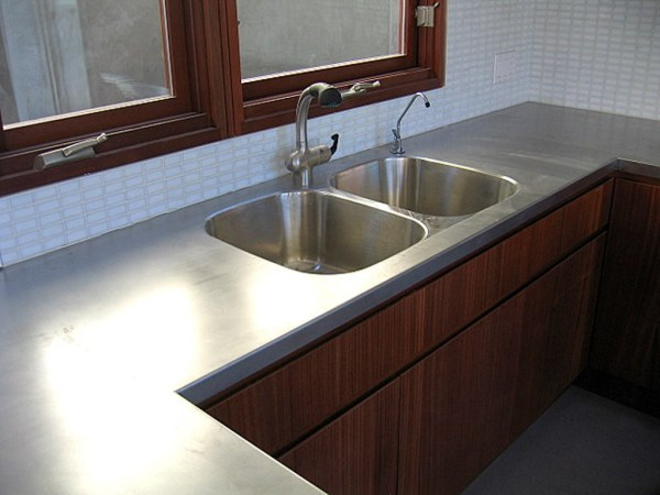 Custom Stainless Countertop