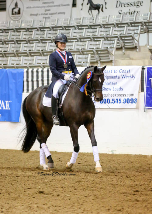 Tanzi 2015 FEI Freestyle Champion