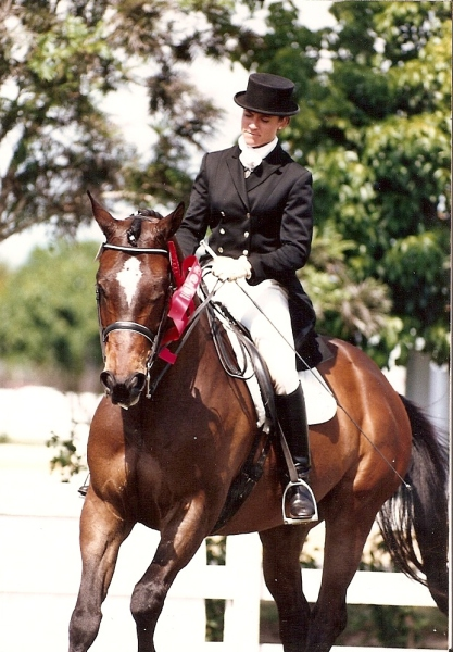 Trabour 2nd place Palm Beach Dressage Derby