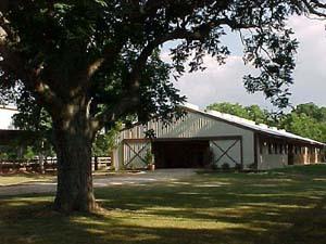 Client's barn