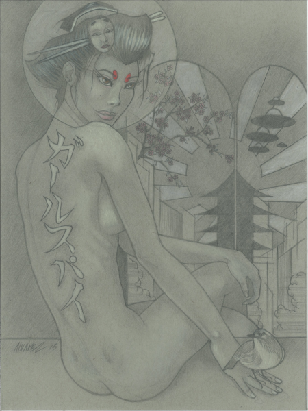 Geisha Spy Girl