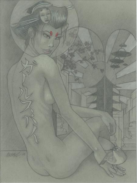 Geisha Spy Girl