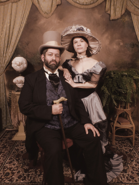 Southern Belle & her gentleman