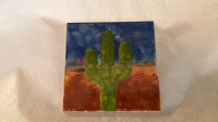 Desert Cactus Hot Plate