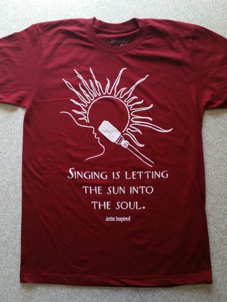 Cranberry Sun-Mic T-Shirt