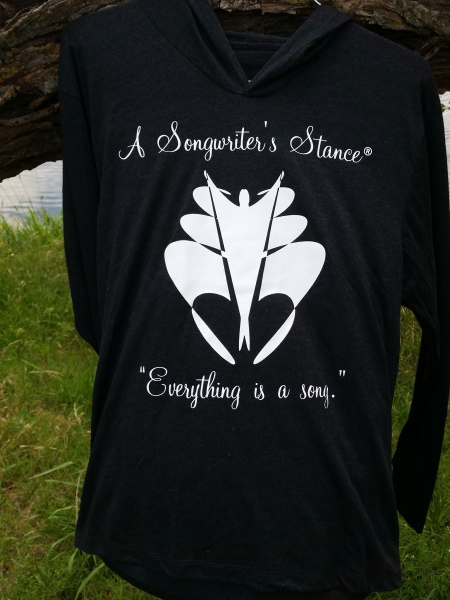 A Songwriter's Stance Hoodie
