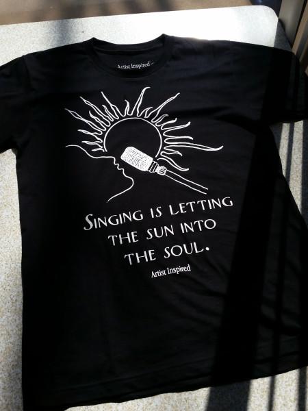 Black Sun-Mic T-Shirt