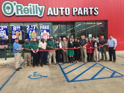 O'Reilly Auto Parts Opens for Business