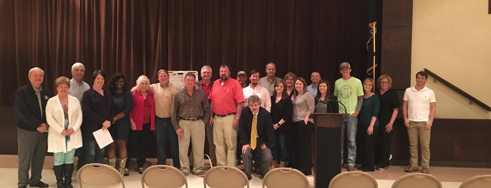 Chamber meets with Rayville citizens and leaders to discuss planning and progress.