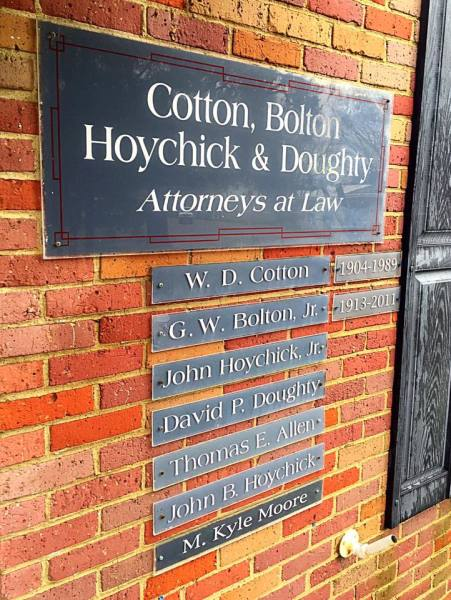 Cotton, Bolton, Hoychick & Doughty, LLP