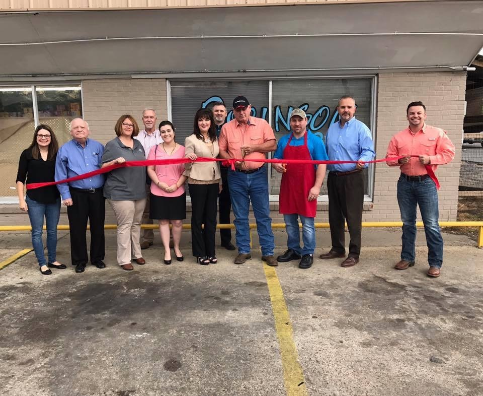 Chamber welcomes Robinson's Meat Market as newest chamber member