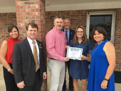 Grand opening of Guardian Health Clinic in Rayville