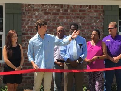 Ribbon Cutting: Delta Scott Duplexes