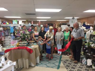 Ribbon Cutting: EmbroideRies Stitches