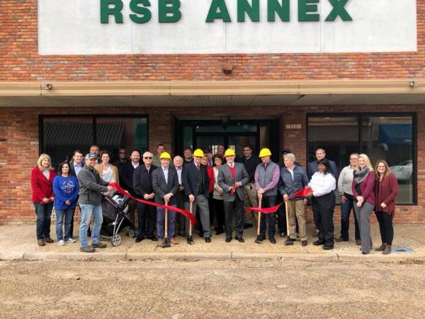 Chamber congratulates Richland State Bank on new groundbreaking of annex