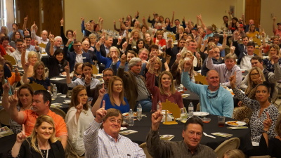 2019 Annual Banquet Sells Out. 400+ in Attendance