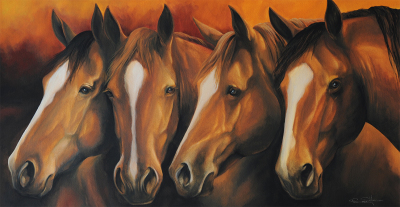 """Gang of Four""  SOLD"