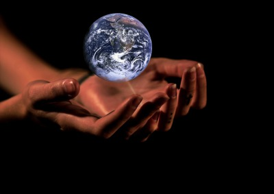 """Planet Earth is in our hands!"""