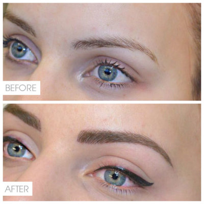 Permanent Cosmetic Make-up, Eyebrow Feathering, Eyeliner tattoo
