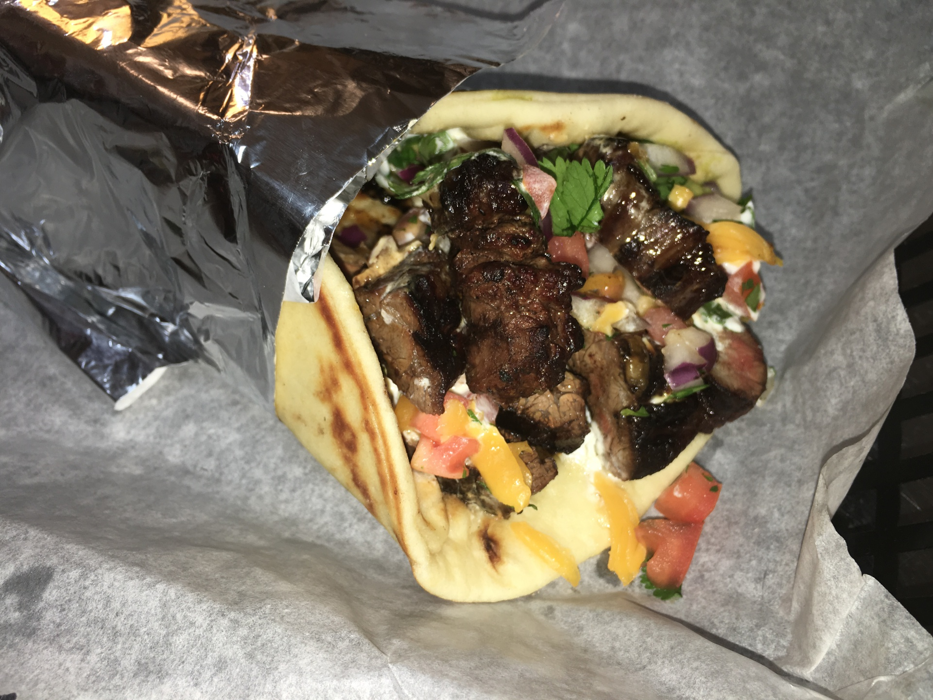 Steak Fajita Pita