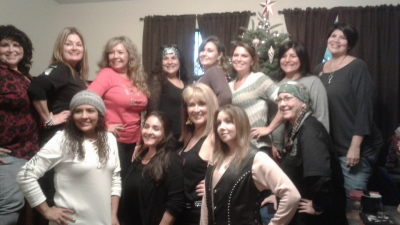 Wroc group at Francesca's house