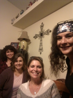 Duby, Marieda, Carrie and Melissa