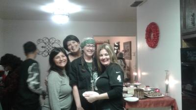 Leesa, Lisa, Helldog and Laura