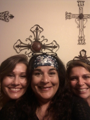 Marieda, Melissa and Carrie
