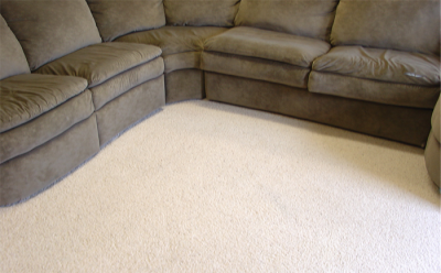 after upholstery cleaning & carpet cleaning