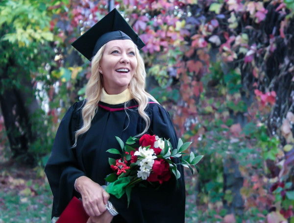 Ann Moore graduation