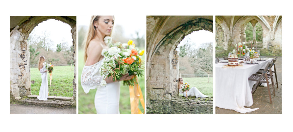 Waverley Abbey Editorial Featured on Ruffled Blog