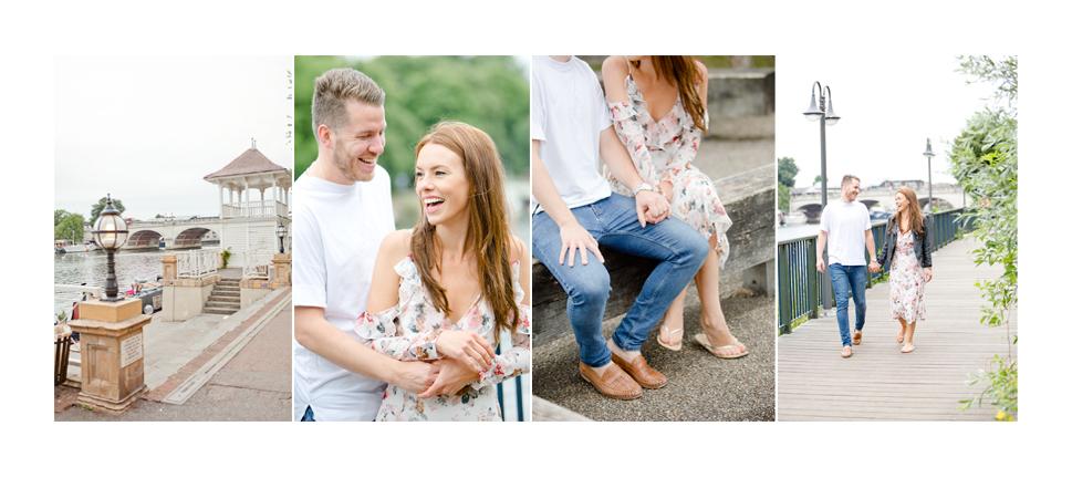 Engagement photography Kingston-Upon-Thames (Matt and Catrin)