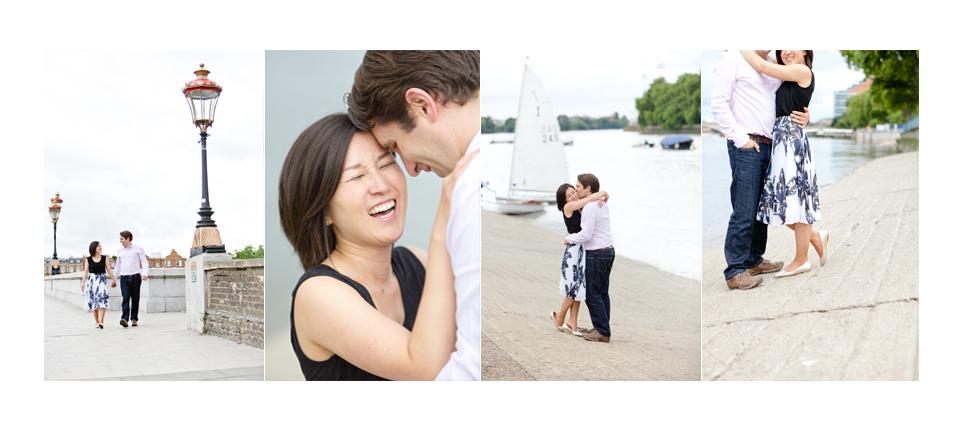 London Engagement - Michael and Yumi