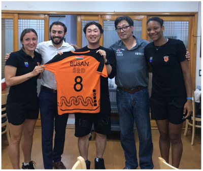 WhereTo? - Korea! [Wherefor going with its partner ERD Handball Club to Korea]