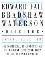 EDWARD FAIL BRADSHAW & WATERSON: BAND 1 2016