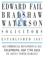 EDWARD FAIL BRADSHAW & WATERSON: BAND 1 2016
