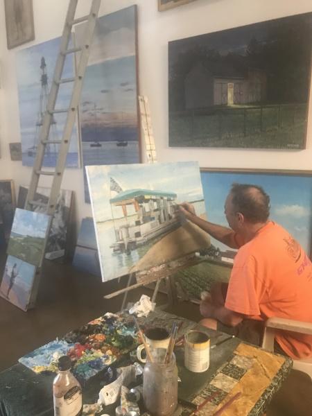 William Selesnick' Studio