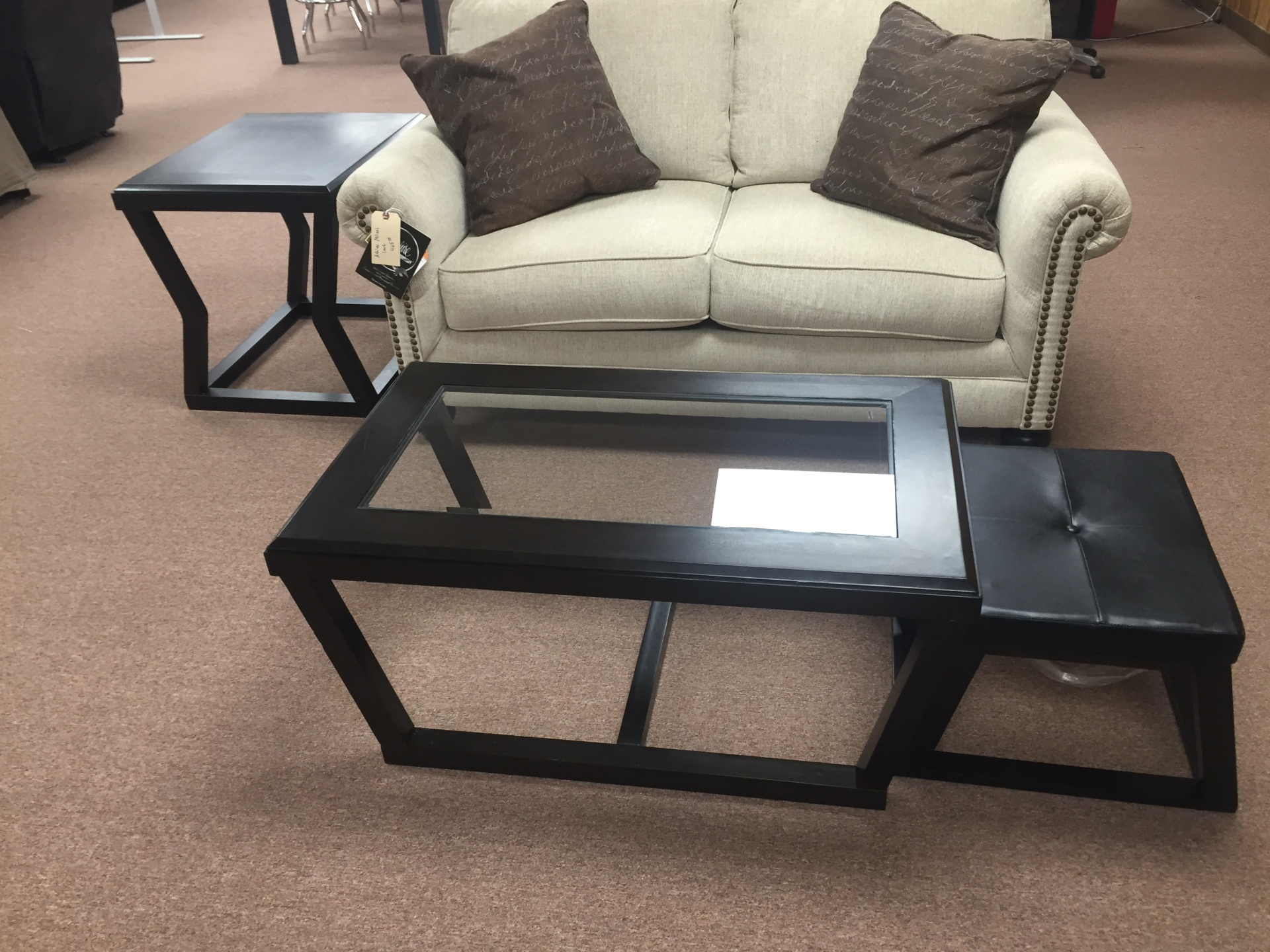 Ashley table/2 stools
