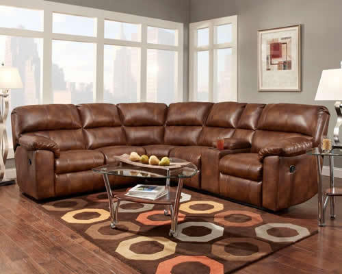 Motion Sectional w/Console