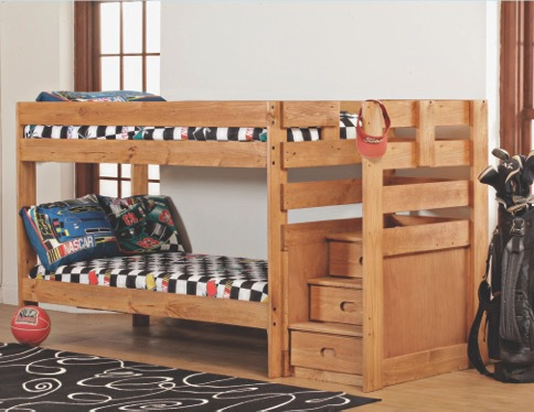 Twin Stair Bunk