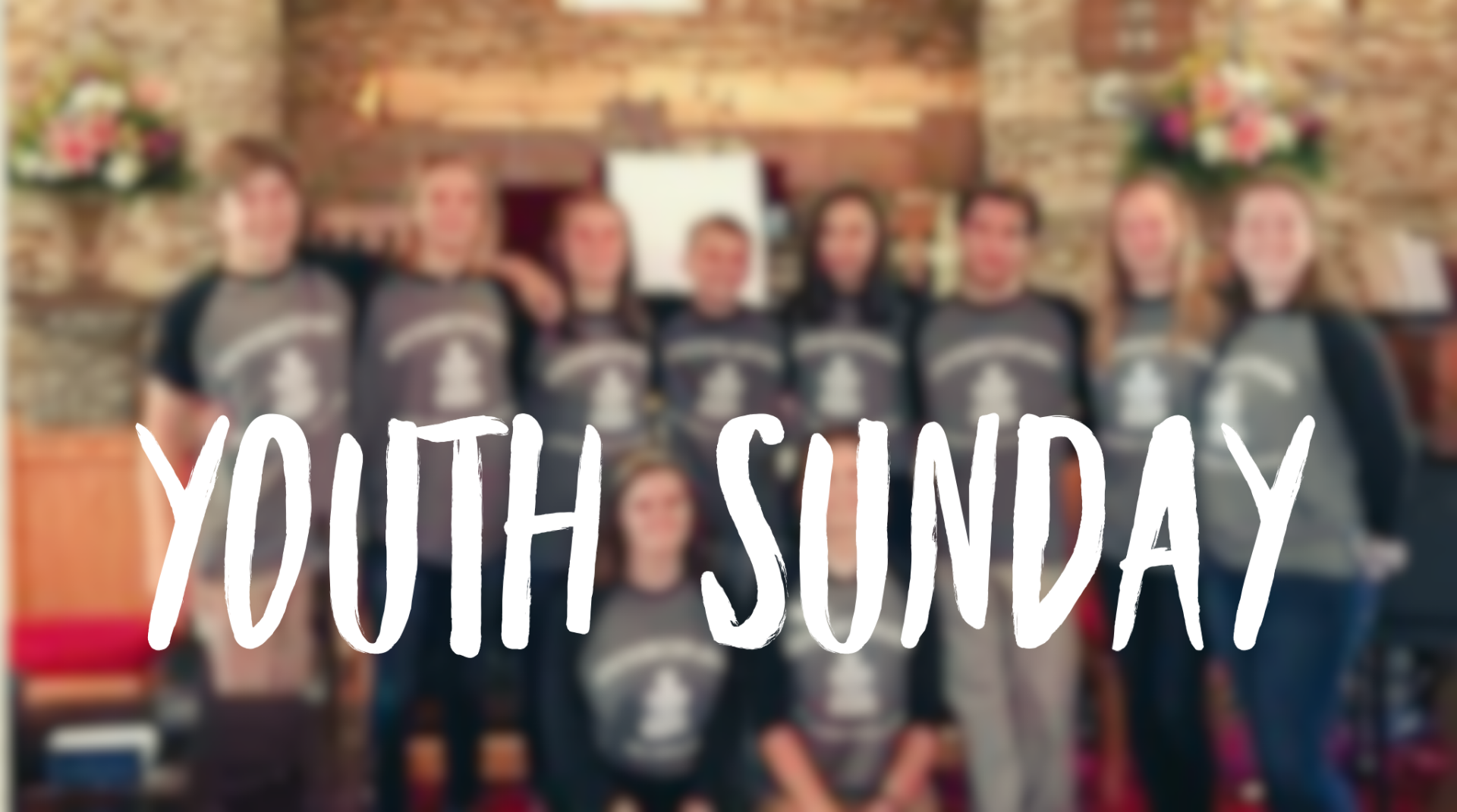 Mark your calendars! Youth Sunday is May 5th!