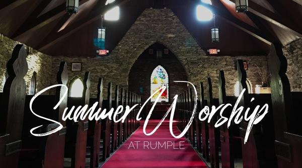 Summer Worship Resumes May 26