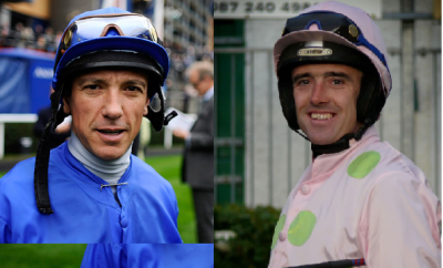Frankie Dettori and Ruby Walsh