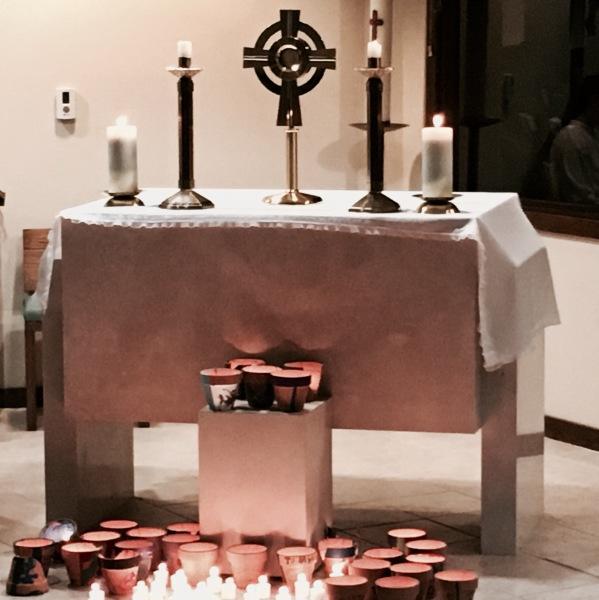 Adoration at 'Rise' Retreat