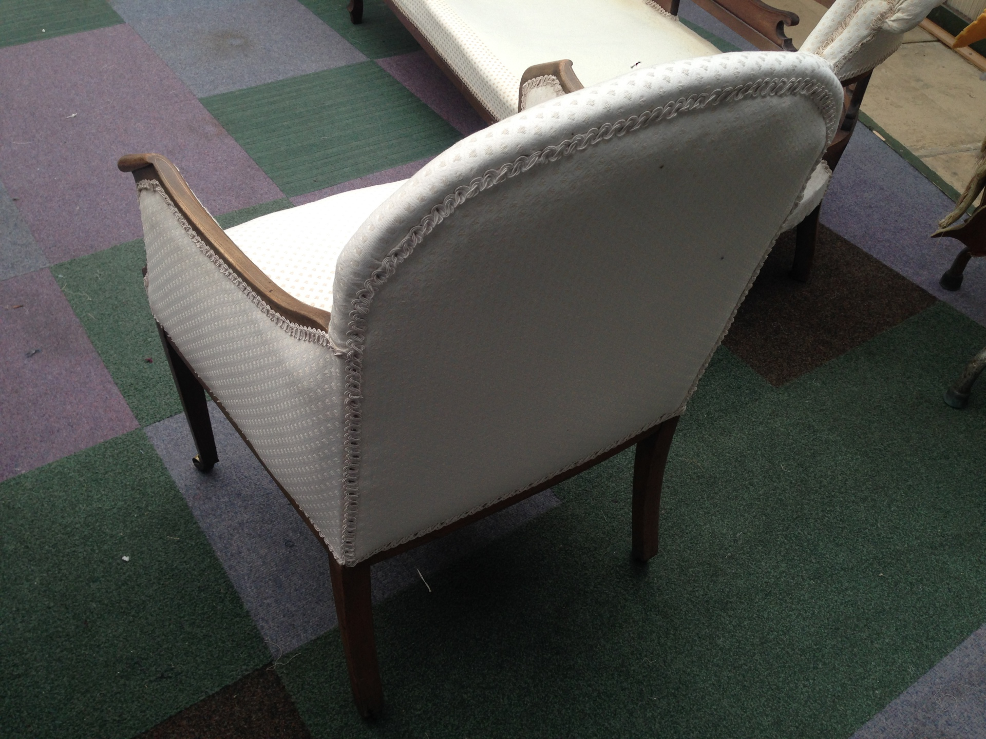 antique chair restoration