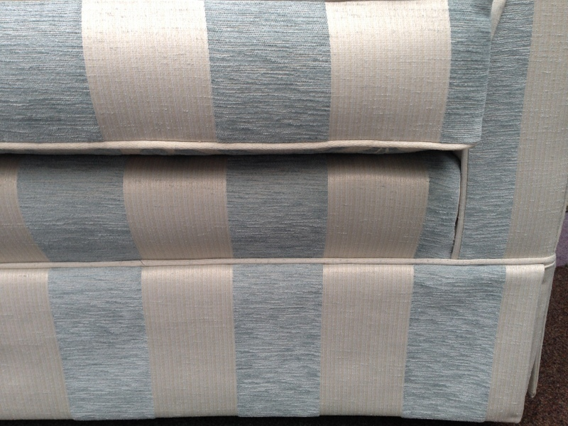 striped upholstery