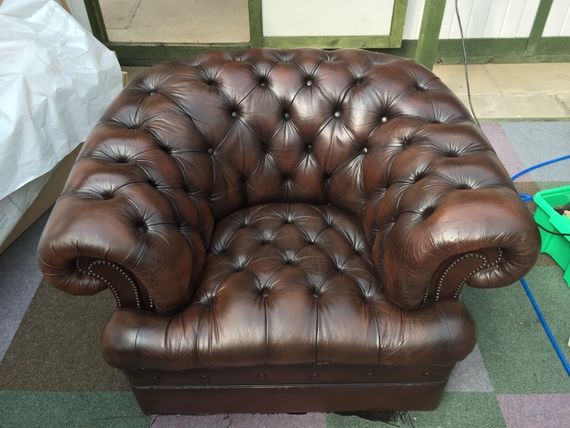 reupholster leather furniture