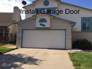 garage door Castle Rock colorado