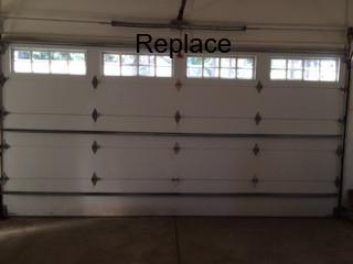 broken spring garage door