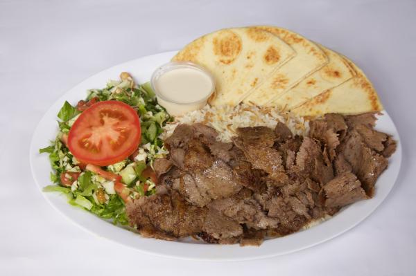 Doner Kebab Plate